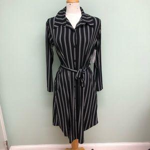 Sympli   Women's 'Go To Striped' Dress   Black